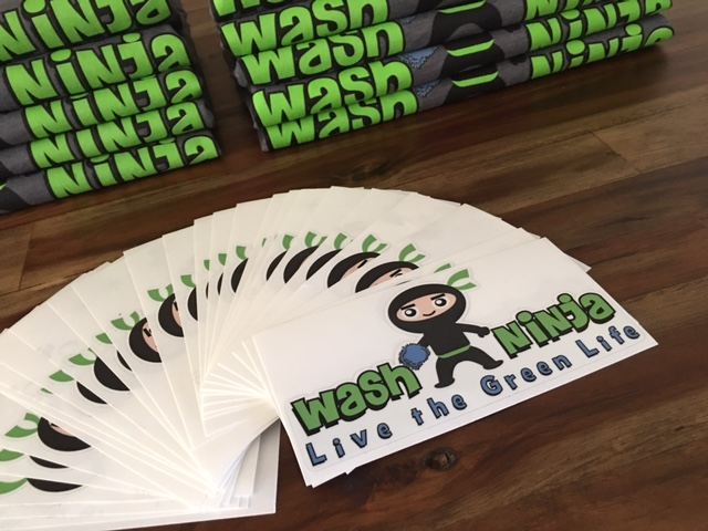 Vinyl laminate sticker
