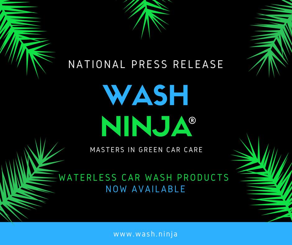 Waterless Car Wash Archives | Wash Ninja