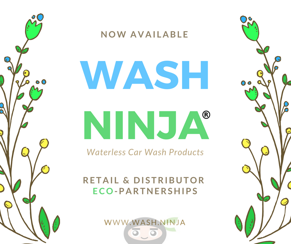 Wash Ninja Waterless Car Wash Products Now Available to